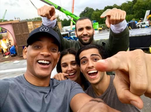 Aladdin Live Action Film Cast